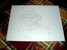 KENNY CHESNEY/ PENCIL DRAWING