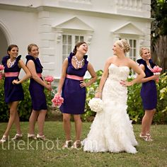 Sassy & structured bride's maids dresses for Akilah