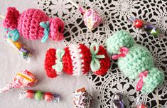 SF Crochet Class: Crochet a Candy Garland on Dec. 3rd!