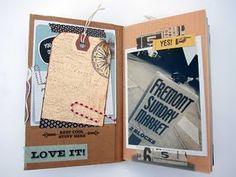 smash book idea #journal #scrapbook