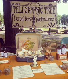 Telegraphic Tree -- herbal teas & tinctures