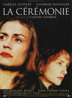 La Cérémonie, l'affiche du film de Claude Chabrol (1995).