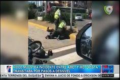 Vocero De AMET Ofrece Declaraciones Sobre El Video Que Muestra Incidente Entre Agentes De AMET Y Un Motorista