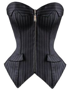Another great find on Daisy Corsets Black Pinstripe Strapless Corset - . - Another great find on Daisy Corsets Black Pinstripe Strapless Corset – Women & Plus by Daisy Corsets Source by nhilkemeier - Look Fashion, Fashion Outfits, Womens Fashion, Fashion Design, Strapless Corset, Strapless Tops, Mode Editorials, Overbust Corset, Mode Inspiration