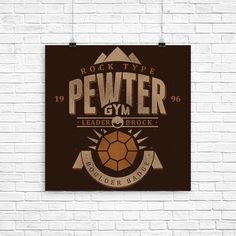 Pewter City Gym - Poster