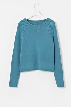 cos graphic knit jumper