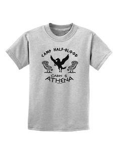 Camp Half Blood Cabin 6 Athena Childrens T-Shirt