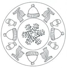 mandala winter: