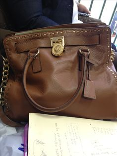 The hubby got me a MK bag something like this one! love how he explained how to tell that mine is real and which ones were fake! lol