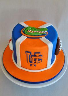 Florida Gators Cake, Hope's Sweet Cakes