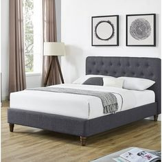 You'll love the Marita Upholstered Platform Bed at Wayfair.co.uk - Great Deals on all products with Free Shipping on most stuff, even the big stuff.