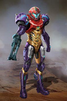 Metroid Samus, Metroid Prime, Samus Aran, Sci Fi Characters, Video Game Characters, Character Inspiration, Character Art, Character Design, Zero Suit Samus