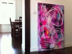 "Saatchi Online Artist: Yuliya Vladkovska; Acrylic, 2013, Painting ""one very confused spring"""