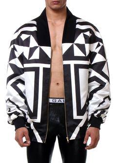 2876ba192fdd bomber stripes detail men style fashion man front www.rubengalarreta.com  Popular Mens Clothing