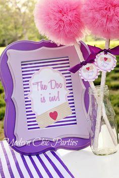 Doc McStuffins party printables