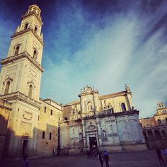 Guided tour in Lecce, the gorgeous Baroque city of #Puglia, #Italy. #luxuryholiday #AriaLuxuryApulia