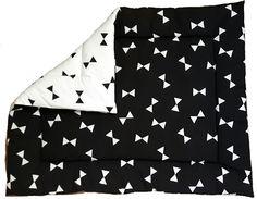 boxkleed zwart wit strikken