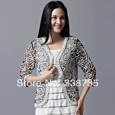 Women Rushed Sale Single Button 2014 Lace Jacket Spring & Summer Plus Size Women's Brand Trend Clairvoyant Outfit Waistcoat for $18.90