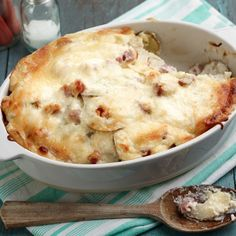 Scalloped Potatoes and Ham by Ree Drummond