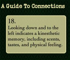 A Guide to Connections. The opposite true for many left-handed people. This is part of a series on eye direction. Guide To Manipulation, The Art Of Manipulation, Writing Tips, Writing Prompts, Writing Help, Essay Writing, Book Prompts, Dialogue Prompts, Persuasive Essays