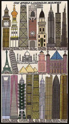 The World Landmark Buildings, BLACKSTOCK