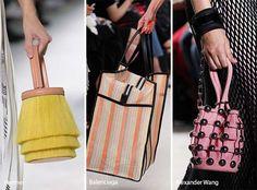 Runway Spring/ Summer 2017 Handbag Trends: Bags with Bizarre Shapes