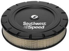 """NEW BILLET SPECIALTIES VINTAGE BLACK POWDER-COATED, LARGE ROUND AIR CLEANER ASSEMBLY, 14"""" DIAMETER X 3"""" TALL WITH K&N LIFETIME FILTER ELEMENT & STAINLESS STEEL HARDWARE Southwest Speed http://www.amazon.com/dp/B00XWPLFO0/ref=cm_sw_r_pi_dp_Nsjxvb167H2J1"""