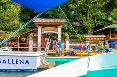Aguila de Osa Inn dock Drake Bay, Puntarenas Costa Rica #travel #family #vacation