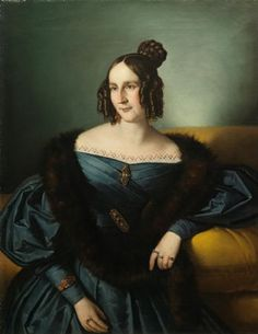 Giuseppe Tominz, Portrait of a young lady.