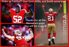 This hurts, losing Gore, Willis and Smith...