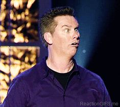This is an animated gif of American stand-up comedian Brian Regan looking around while pulling a funny retarded face. Brian is from Miami,. Beyonce, Brian Regan, What Gif, Boy Gif, I Love To Laugh, Funny People, Funny Things, Funny Stuff, Stupid Stuff