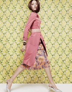 nice Vogue China March 2014 | Yumi Lambert by Greg Kadel  [Editorial]