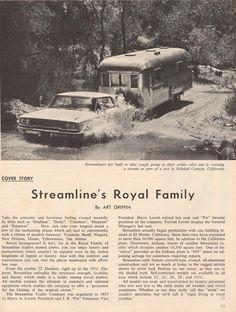 October 1963 Streamline Trailer Article