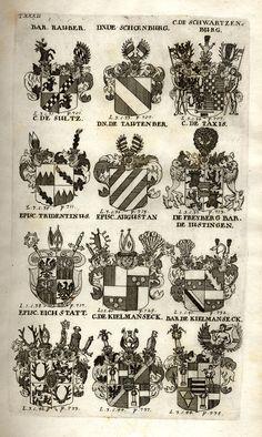 Spener, Philipp Jakob: Historia Insignium Illustrium Seu Operis Heraldici Pars Specialis. - Frankfurt <Main>, 1717. Banner, Holy Roman Empire, Jpg, Crests, Coat Of Arms, Frankfurt, Vintage World Maps, Lithuania, Polish
