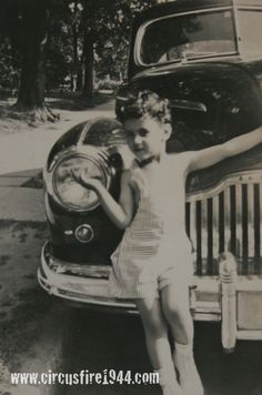 3 year old Joseph DeNezzo Jr and his mother were sadly victims of Hartford circus fire on July 6, 1944. <3 <3 <3 <3 :'(