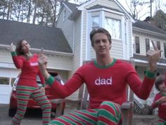 WATCH: Family's 'Christmas Jammies' holiday video is going viral! their Christmas card to