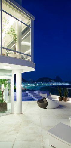 Tríplex Copacaba, Rio de Janeiro | Carlos Cesar Ferreira Architecture