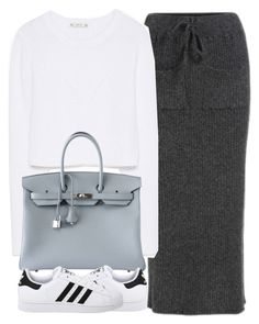 """Untitled #3996"" by london-wanderlust ❤ liked on Polyvore featuring Zara, Hermès, adidas Originals, women's clothing, women's fashion, women, female, woman, misses and juniors"