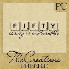 Create with TLC: Tuesday Freebie..........