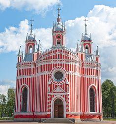 Wow!! Chesme Church, St Petersburg, Russia // Architect: Yury Felten // Photo: Flickr user rpmillermd