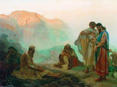 3 Common Misconceptions in the Book of Job,Leland Ryken - Study from the Bible and be encouraged to grow your faith! Images Bible, Bible Pictures, Ilya Repin, Paul Gauguin, Wassily Kandinsky, Job Biblia, Catholic Daily Reflections, Book Of Job, William Turner