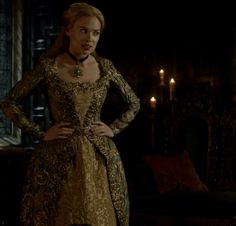 Greer on Reign 4x09