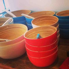 Meko Bamboo Bowls