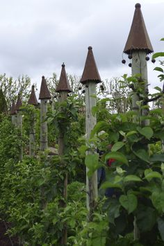 Chateau Val Joanis garden - when in the south of France - extravagant potager