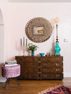 Home Tour: Bohemian Glamour in Los Angeles — The Decorista