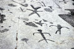 "Petroglyphs Provincial Park, Woodview, Ontario, Canada - This site has the ""largest known concentration of Aboriginal rock carvings (petroglyphs) in Canada, depicting turtles, snakes, birds, humans and more; this sacred site is known as ""The Teaching Rocks.'"""