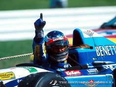 1995 Formula 1 German Grand Prix - Michael Schumacher.