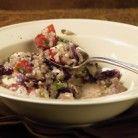 Mixed Mushroom and Rice Soup