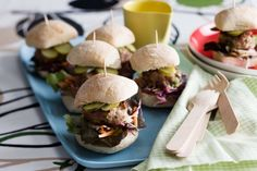 A batch of these mini burgers make great party fare.