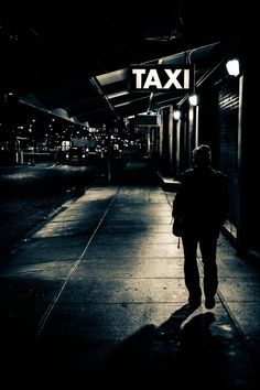 Chelsea Piers Taxi Stand, Manhattan, photograph by Ric Camacho